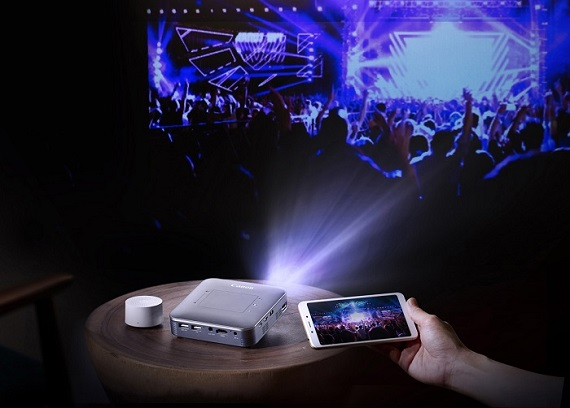 Canon Mini Wireless Projector MP250 Pocket Cinema