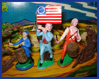 7 Years War; 7YW; American Revolution; American War of Independence; Archibald Willard; AWI; Cake Decoration Figures; Cake Decorations; Men of '76; New York; Old Cake Decorations; Old Plastic Figures; Old Toy Soldiers; Seven Years War; Small Scale World; smallscaleworld.blogspot.com; Spirit of '76; Unknown Hong Kong; Vintage Cake Decorations; Vintage Plastic Figures; Vintage Plastic Soldiers; Award International; 54mm Figures; N Y Cake Baking Supplies;