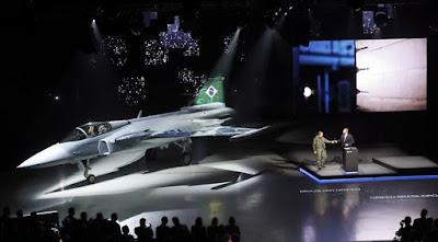 JAS-39 Gripen E / F fighter aircraft