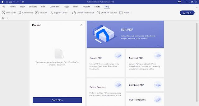 Screenshot Wondershare PDFelement Pro 7.1.4.4509 Full Version