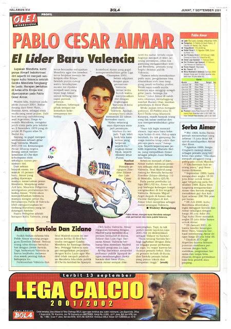 PABLO CESAR AIMAR PROFILE EL LIDER VALENCIA