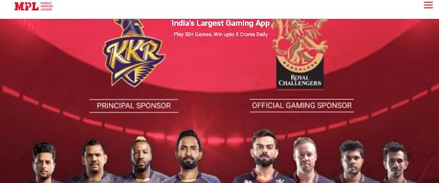 MPL mobile premire league monety earning app min