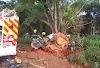 Jataí: Homem morre após perder controle do veículo e bater em árvore