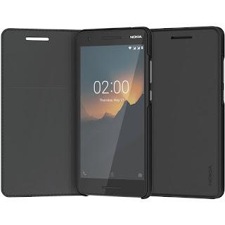 Nokia Entertainment Flip Cover Black color