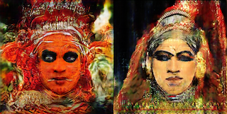 Masked_Reality_Interactive -  By artificial intelligence (A.I) and new media artist, Harshit Aggarwal