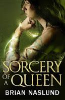 Sorceress Queen against a green background