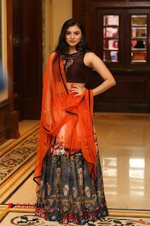 Actress Priyanka Pictures in Half Saree at Apartment Movie Audio Launch  0172