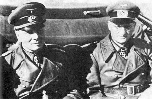 Hans Speidel Erwin Rommel worldwartwo.filminspector.com