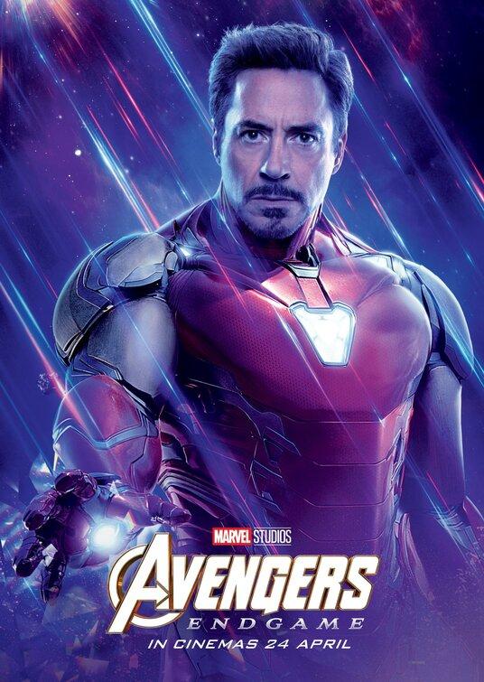 Avengers Endgame Iron Man poster
