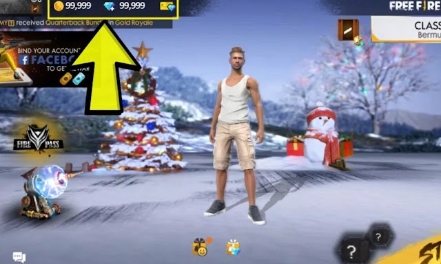 How to Hack unlimited diamond in free fire without using any survey?
