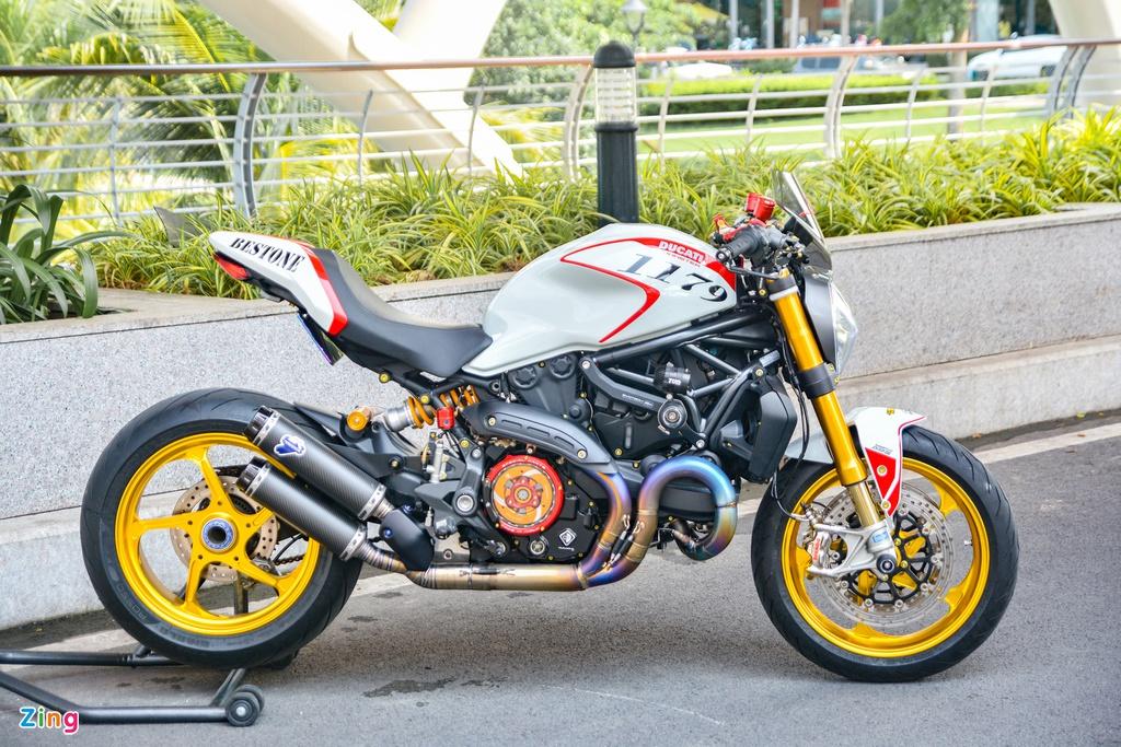 Ducati Monster 821 'lột xác' thành Monster 1200 với gói độ 500 triệu