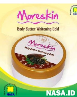 Moreskin Body Butter Whitening And Vit E Gold