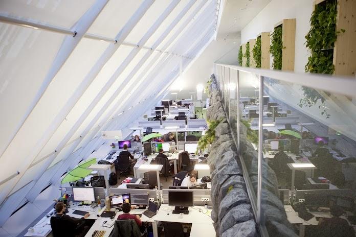 google office environment. Google Munich Office Environment E