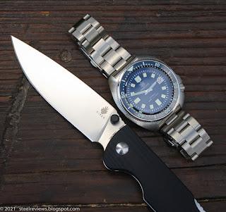 Kizer Slicer & SteelDive 6105 Willard