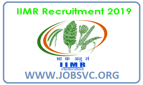 Indian Institute Of Millets Research ( IIMR ) Recruitment 2019 – Various Executive Posts | Apply Online