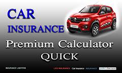 Car Insurance Premium Calculator: 13 Quick Steps,image with a red car and car insurance premium calculator quick written,