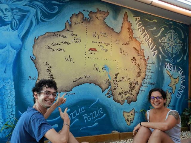 mappa australia ozzie pozzie port macquarie