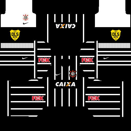 Kit Dream League Soccer Corinthians 2017 18 Kits Logo