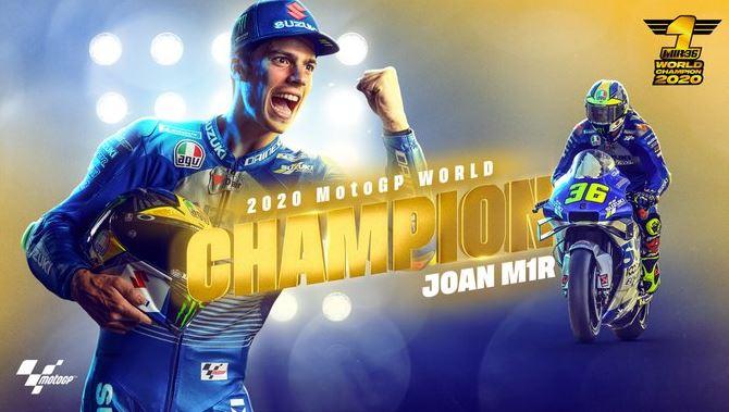 Joan Mir Juara Dunia MotoGP 2020, Morbidelli Juara MotoGP Valencia