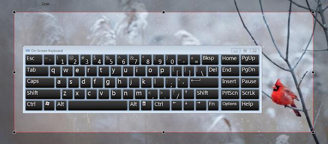 cara screenshot pada laptop dell