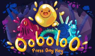 The title screen for our game OoboloO.