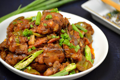 Chicken Chili Indo Chinese Style