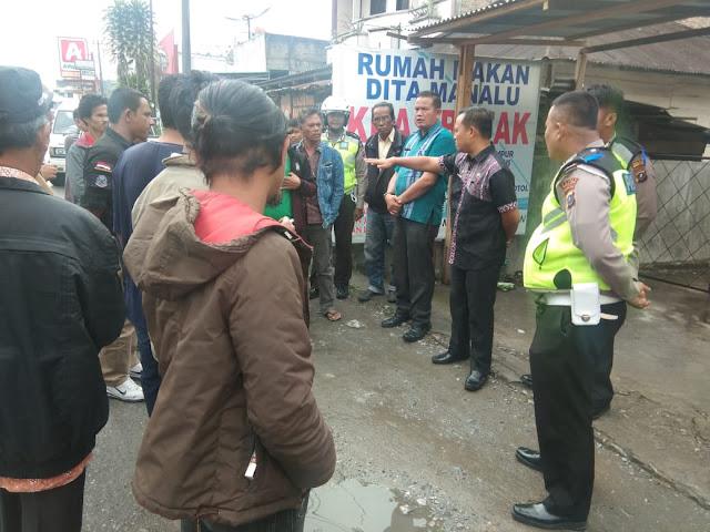 Camat : Sebagai Pusat Bisnis, Siborong-borong Harus Ditata