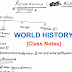 World History Hand Written pdf Class Notes Download in Hindi for Civil Services Exams