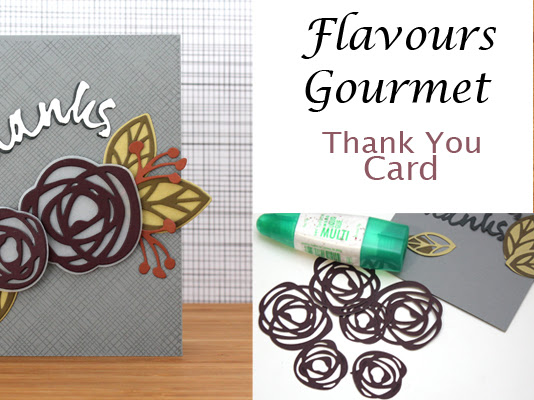 Thank You Card with Flavours Gourmet