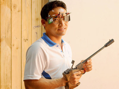 Jitu Rai Shoots 50m Pistol Gold With Record Score