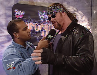 WWE / WWF Unforgiven 2000 - Jonathan Coachman interviews The Undertaker