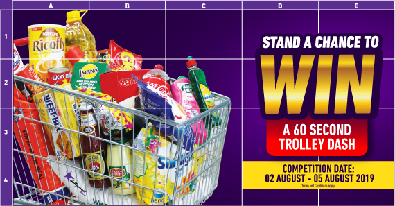 Win A Trolley Dash with Hollywoodbets