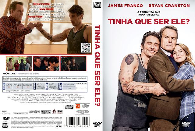 Capa DVD Tinha Que Ser Ele [Exclusiva]