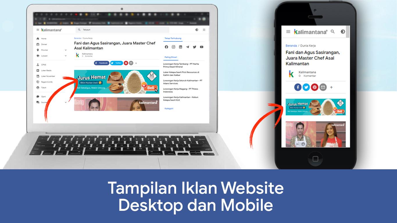 iklan di situs kalimantana