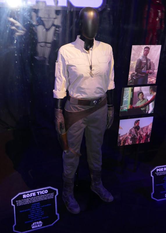 Kelly Marie Tran Star Wars Rise of Skywalker Rose Tico costume