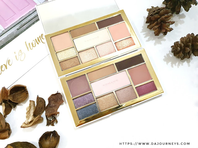 [Review] Romand Perfect Styling Eye Palette