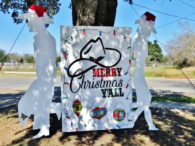Merry Christmas from Pearsall, TX, December 15, 2018