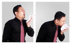 Maintain distance during sneezing