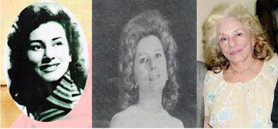 Várias fases de Adélia: mocidade, maturidade, velhice.