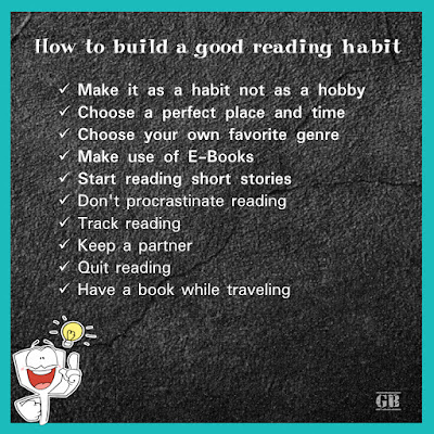 Reading Books | How to build a good reading habit