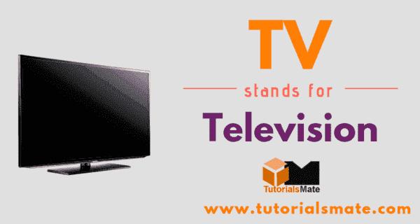 TV Full Form