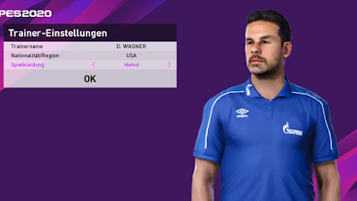 PES 2020 ML Manager Mod David Wagner by Volun