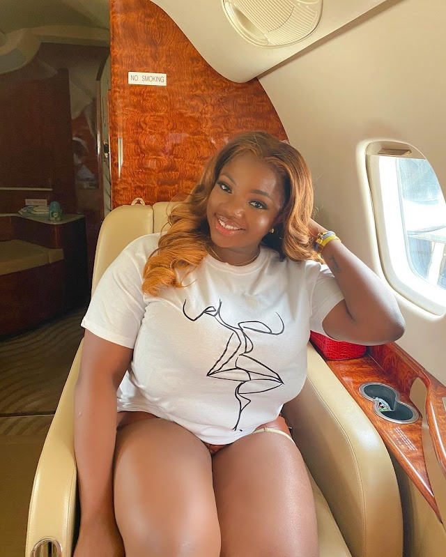 Dorathy Enters Private Jet for the First Time, Shares Video on Her IG Story (Photos/Video)