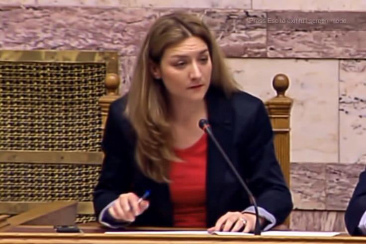 Επανεξελέγη Γραμματέας της Βουλής η Βουλευτής Έβρου Νατάσα Γκαρά