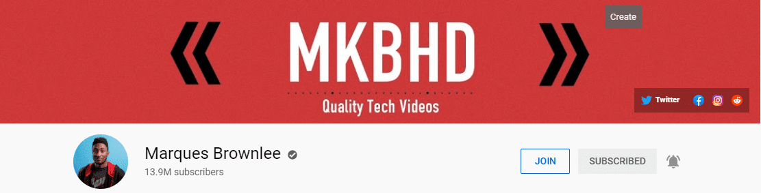tech youtube channels with most subscribers