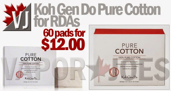 Koh Gen Do Pure Organic Chemical Free Cotton Pads 60