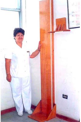 tallimetro fijo madera niños adultos enfermera guia tecnica infantometros minsa