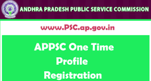 APPSC One Time Registration Including Edit/Modification of Application