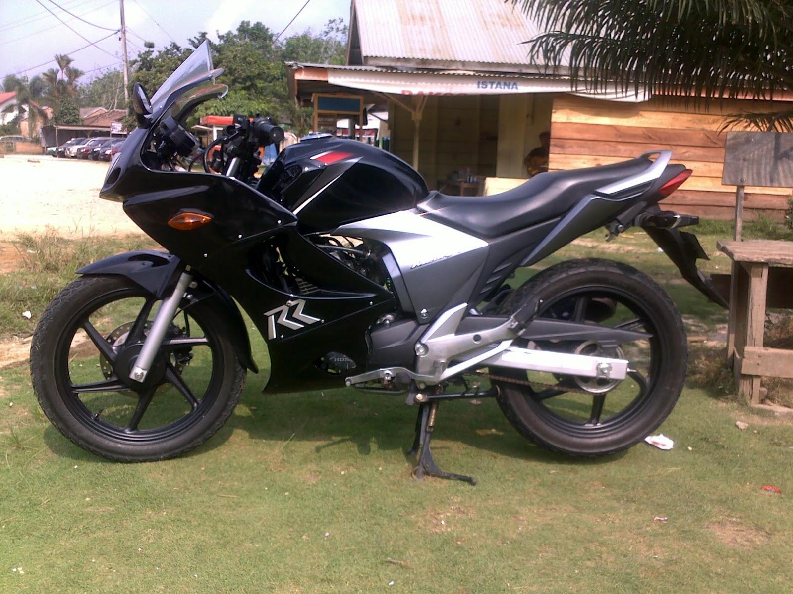 Motor Drag Ninja Gambar Modifikasi New Honda MegaPro Terbaru 2013