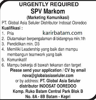 Lowongan Kerja PT. Global Asia Seluler